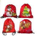 Custom Christmas Drawstring Bag, 6