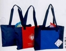 Custom Convention Poly Zipper Tote Bag