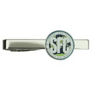 Tie Bar Clip, Custom Die Struck Soft Enamel 3/4