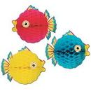 Custom Tissue Bubble Fish, 12