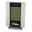 Custom Multi Function Alarm Clock & Calendar (Silver), 7