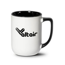 Custom Wealden Mug - 17oz White/Black
