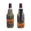 Custom Mossy Oak Camo Premium Collapsible Foam Bottle Insulators w/Zipper