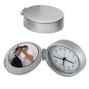 Custom Executive Photo Frame Clock, 2 1/4