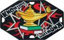 Custom Street Tag Lamp Of Knowledge Medal, 1 5/8