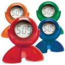 Custom Swivel Head Bubble Clock, 2 3/4