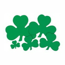Custom Printed Shamrock Cutouts, 5