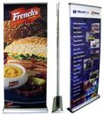 Custom Banner Stand - LD2 Premium Double Sided