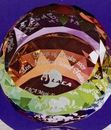 Custom Optical Crystal Dome Paperweight, 3