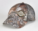 Custom Camo Kings 6 Panel, Mesh Back Camouflage Cap