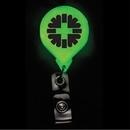Custom Glow In The Dark Jumbo Round Badge Reel (Chroma Digital Direct Print), 1.5