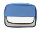 Custom Half Transparent Cosmetic Bag (8-1/2