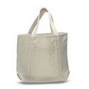 Custom Large Canvas Deluxe Tote, 22