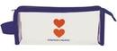 Custom Transparent Accessory Bag w/ Side Handle, 8