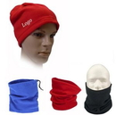 Custom Fleece Neck Warmer/Hat, 11 3/4