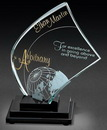 Custom Small Apollo Crystal Award
