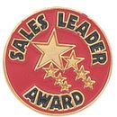 Blank Sales Award Lapel Pins (Sales Leader Award), 3/4