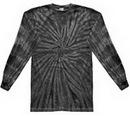 Custom Spider Black Longsleeve Tye Dye Shirt