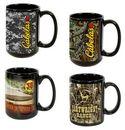 Custom 15 oz. Black C-Handle Mug