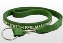 Custom Forest Green Tubular Lanyards 1/2