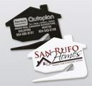 Custom House Letter Opener w/Metal Blade (4-Color), 2 3/4