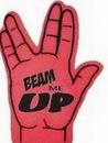 Custom Trek Foam Hand Mitt