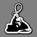 Custom Snowmobile (Solid) Bag Tag