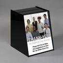 Custom Large Black Acrylic Registration Box