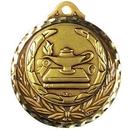 Custom Stock Medallions (Lamp of Knowledge) 2 3/4