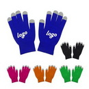 Custom Five Fingers Touch Screen Gloves, 8 5/8