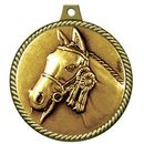 Custom Stock Medal w/ Rope Edge (Horse) 2 1/4