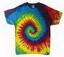 Custom Reactive Rainbow Tye Dye