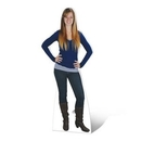 Custom Life Size White PVC Board Stand-Outs (74