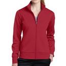 Custom Sport-Tek Ladies' Sport-Wick Fleece Full-Zip Jacket