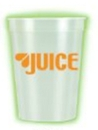 Custom 12 Oz. Nite-Glow Smooth Stadium Cup