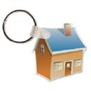 Custom House 2 Key Tag