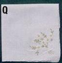 Daisy & Bowknot Handkerchief