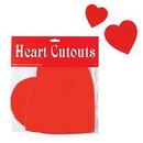 Custom Printed Heart Cutouts