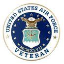 Custom Military - U.S. Air Force Veteran Pin, 1