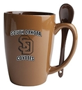 Custom Reading Spoon Mug (Chocolate/Russet Brown)