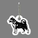 Custom Dog (Akita) Zip Up