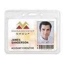Custom Aveone Premium Grade Standard Slot/ Hole Badge Holder (3 3/8