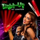 Custom Red LED Foam Batons