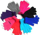 Custom Warm Fingers Capacitive Screen Touch Gloves, 8 5/8