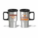 16 oz. Stainless Steel Travel Mug with Plastic Liner, Personalised Mug, Custom Mug, Advertising Mug, 5.75