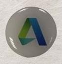 Custom Digi-Process Lapel Pins / Four Color Process (1'')