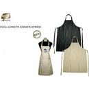 Custom Eco Friendly Full Length Cook's Apron(Screen Printed)