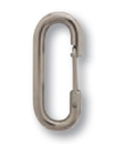 Blank Stainless Steel Spring Clip (2 3/4