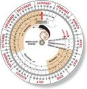 Custom Pregnancy Birth Date Finder Wheel Calculator 4.25
