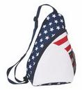 Custom Stars & Strips Sling Backpack, 9